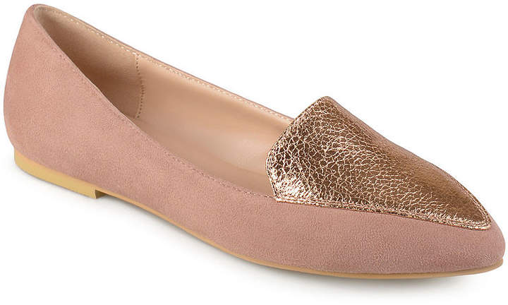 53802cb208c28 Rose Gold Flats - ShopStyle