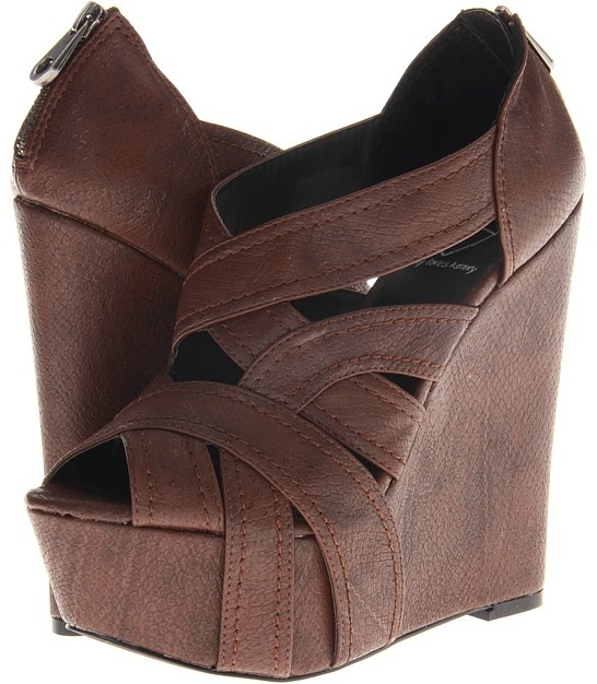 Penny Loves Kenny Grizel (Brown Matte) - Footwear