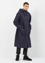 Dries Van Noten navy vaughn reversible jacket