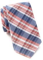 Ben Sherman Woven Plaid Silk Tie