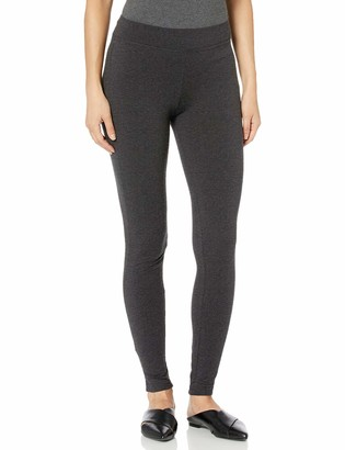 Hue Women's Wide Waistband Blackout Cotton Leggings Assorted