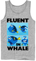 Fifth Sun Men's Tank Tops ATH - Finding Dory 'Fluent in Whale' Tank - Men