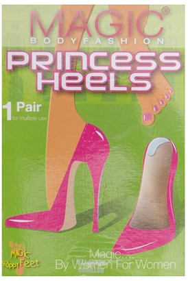 Magic Body Fashion MAGIC Bodyfashion Happy Feet Princess Heels (No Color) Women's Insoles Accessories Shoes