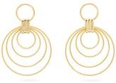 Joelle Gagnard Kharrat - Voltiguer Gold-plated Hoop Earrings - Womens - Gold
