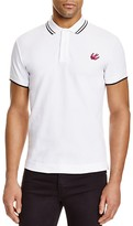 McQ by Alexander McQueen Swallow Tipped Slim Fit Polo Shirt