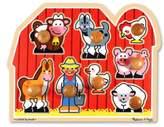Melissa & Doug Toddler Farm Jumbo Knob Puzzle