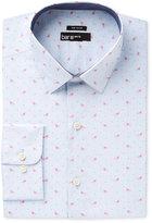 Bar III Men's Slim-Fit Stretch Flamingo Print Dress Shirt, Only at Macy's