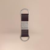 Burberry London Leather Valet Key Ring