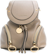 See by Chloe double zip mini backpack - women - Leather - One Size