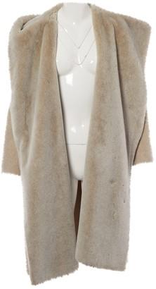 Nicole Farhi Grey Wool Coats