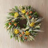 west elm Fall Safflower Wreath
