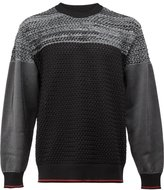 08sircus tonal jumper - men - Polyester - 4