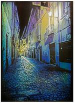 Torino Cobblestones by Logan Hicks (Hand-Sprayed Multiple Aerosol)