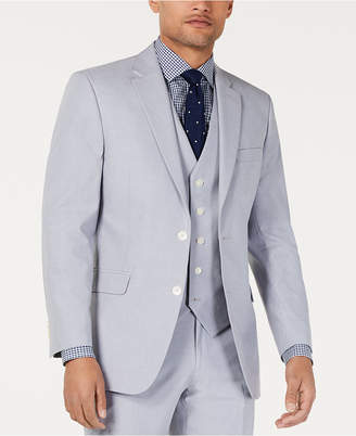 Tommy Hilfiger Men Modern-Fit Th Flex Stretch Chambray Suit Jacket