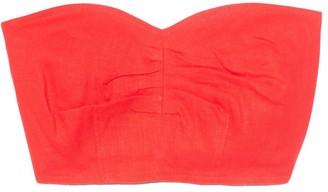 Mara Hoffman Thea Top in Red