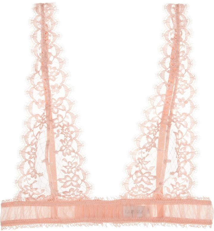 La Perla Blow Up tulle and lace bra