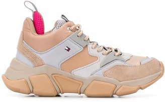 Tommy Hilfiger panelled hiking sneakers