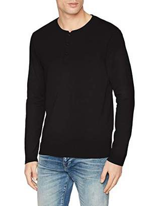Celio Men's Nesupimao T-Shirt, Grey Gris Chiné, (Size: Small)
