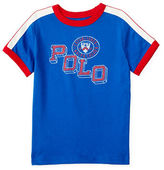 Ralph Lauren Boys 2-7 Graphic-Front Ringer T-Shirt