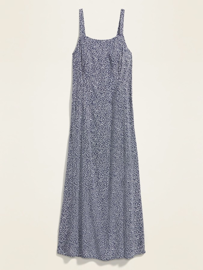 Old Navy Floral-Print Fit & Flare Cami Maxi Dress for Women