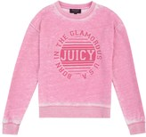 Juicy Couture Girls Fashion Track Graphic Pullover