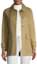 Maje Spread Collar Coat
