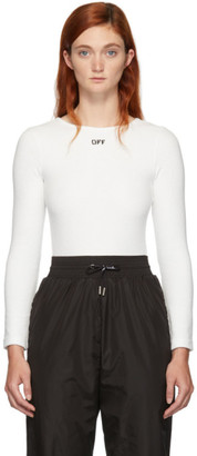 Off-White White Off Bodysuit