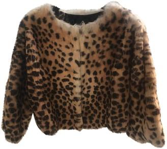 La Perla Brown Fur Jacket for Women