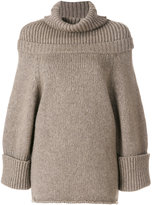 J.W.Anderson oversize sweater - women - Polyamide/Yak/Virgin Wool - S