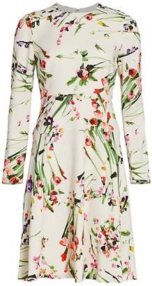 Lela Rose Wildflower Dress