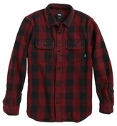 Vans Boy's Wisner Buffalo Plaid Twill Shirt