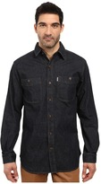 Carhartt Rugged Flex Patten Denim Shirt Men's Clothing