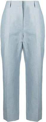 Lanvin Cropped Straight-Leg Trousers