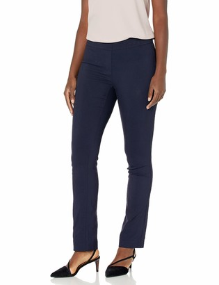Lark & Ro Amazon Brand Women's Slim Leg Stretch Pant: Comfort Fit