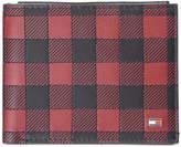 Tommy Hilfiger Men's Plaid Leather Wallet