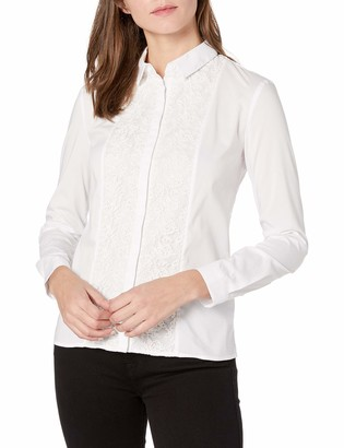 French Connection Women's Hennessy Cotton Button Down Top