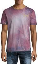 Robin's Jeans Bleached Tie-Dye Logo T-Shirt