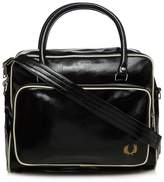 Fred Perry Black Rectangular Holdall