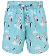 Snapper Rock Cabana Palm Board Shorts