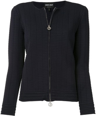 Giorgio Armani Zipped-Up Jacket