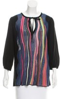 M Missoni Abstract Print Knit Sweater