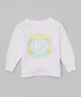 Swag White Circle Monogram Tee - Infant Toddler & Boys