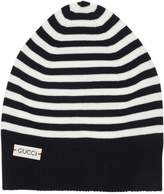 Gucci Stripes Wool Knit Beanie Hat