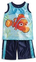 Nannette Boys 2-7 Finding Nemo Tank and Shorts Set