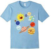 Kids Planets of the Solar System and the Sun T-shirt