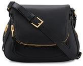 Tom Ford Jennifer Medium Leather Shoulder Bag, Black