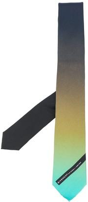 Givenchy Colour-Gradient Silk Tie