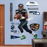 Fathead NFL Seattle Seahawks Russell Wilson Wall Graphic