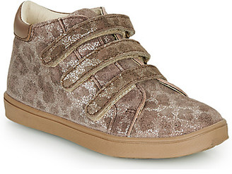 Catimini CIGANA girls's Shoes (High-top Trainers) in Brown
