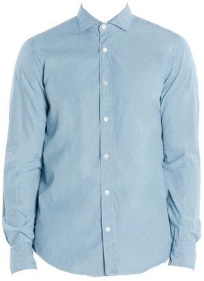 Eleventy Cotton Chambray Shirt